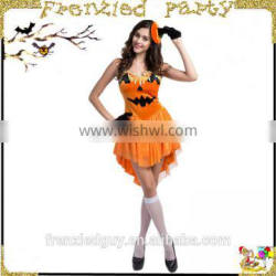 new arrival party sexy pumpkin halloween costume