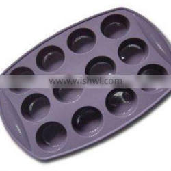 12 Cup Silicone Muffin pan