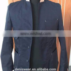 Spring And Autumn Fashion Washed Mens Slim Fit Jacket