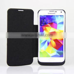 3800mAh External case power bank with leather cover for S5