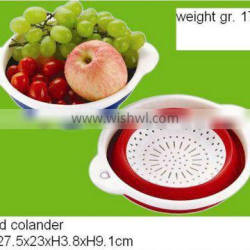 fashion high quality silicone rubber colander