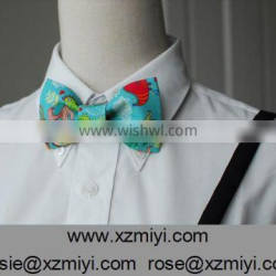 custom digital print funny bow tie wholesale