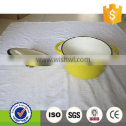 cast iron home use enamel cookware
