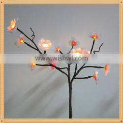 Latest hot selling!! unique design artificial trees with led lights for promotion