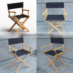 Factory good quality tall folding director chair