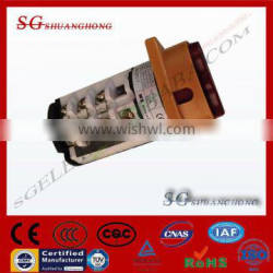 ROTARY SWITCH with face plate face PANEL 32A 3POLE Selector changeover transfer switch