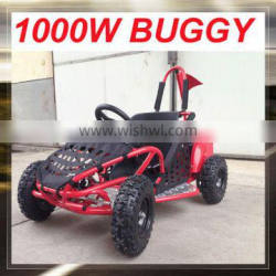 Red 1000W electric go kart