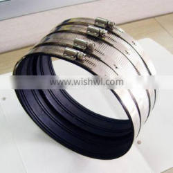 Heavy duty type A pipe coupling/rubber clamp/hose clamp