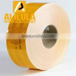 Yellow 3m diamond grade reflective sheeting sticker reflective film tape for car/road