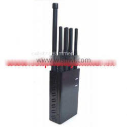 8 Antenna Handheld Jammers WiFi GPS L1 L2 L5 and 2G 3G 4G All Phone Signal Jammer