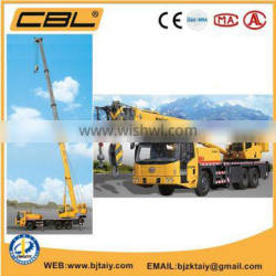 25 ton truck crane with pickup crane