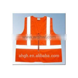 EN 20471 and ANSI/ISEA 107 reflective safety vest