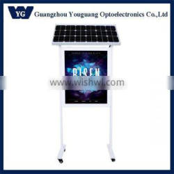 Energy saving outdoor attractive waterproof high quality solar led light box