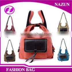 Large Canvas Tote Bag For Shopping colorful Trendy Canvas Lady Hand bag On Alibaba