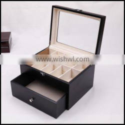 A transparent roof clamshell drawer storage bo sales show special belt manufacturers selling custom