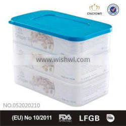 4 layers crisper promotional item BPA free food container UAE