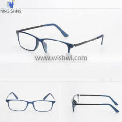 2016 latest new design fashion PC cheap reading glasses clicks