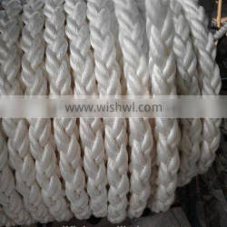8 strand mooring marine polyester anchor double braided rope