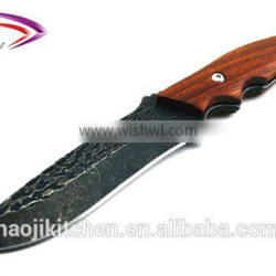 New Design Outdoor black Stainless Steel Survival Hunting Knives