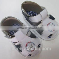 Fashion Baby boy Sandals PU baby prewalker