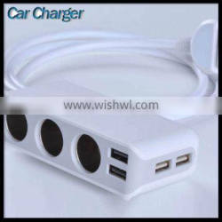 Hot Sale Best Car Charger Two Multi Usb Port