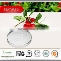 Low price supply 100% Natural Bearberry Extract with Ursolic Acid 98%
