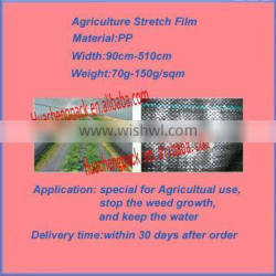 Hot ! Agriculture black Mulch Film (PP Woven Fabric)