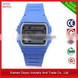 top selling pulse rate wrist watch, plastic case pulse rate wrist watch R1076