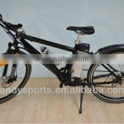 "folding electric bike with lithium batttery EEC 26"" electric city bike electric mountain bike for cheap sale(LD-EB201)"