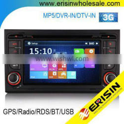 "Erisin ES7078A 7"" Car DVD GPS with Built-in Games for A4 S4 RS4"