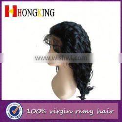 China Online Shopping Front Lace Human Hair Wig