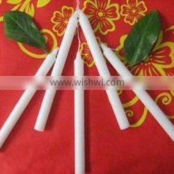 white household candle/ white paraffin wax candles/ colorful and white wax candle for daily lighting