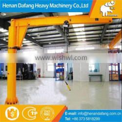 High Quality Best Design Indoor Industrial Electric Hoist 3 Ton Swing Jib Crane for Lifting