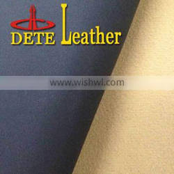 winter high quality leather raw material for boots PU synthetic leather for Iran market