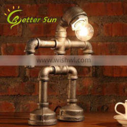 Water Pipe Robot Retro Desk Lamp For Coffee Shop