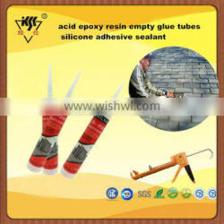 acid epoxy resin empty glue tubes silicone adhesive sealant