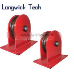 Lifting Hoist Single Groove Sheave Wire Rope Snatch Block Pulley