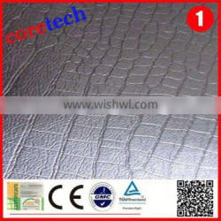 Hot sale Durable pu leather fabric factory