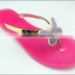 Latest fashion sandals slipper PVC shoes for girl