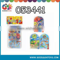 Promotional little pinball game toy with cartoon picture