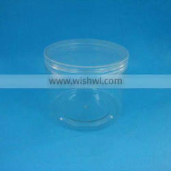 plastic jar food 500ml, pet candy jar and container, clear plastic jar