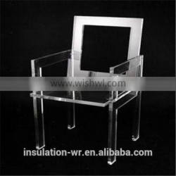 Arcylic PMMA insulation organic glass used as chair