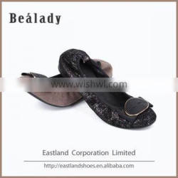 Newest high quality soft genuine sheep leather cheap chinese ballerinas women shoes