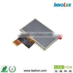 """AT043TN24 V.7 Innolux tft lcd display 4.3"""" wide temperature 480*272"""