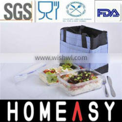 Microwavable Take-away Food Containers Set
