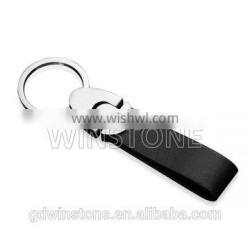 Manufactory directly suply price for car logo Leather Keychain