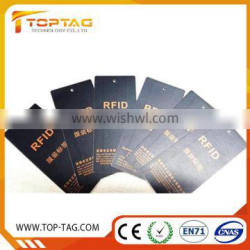 Wholesale clothing passive uhf rfid tag for garment management
