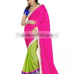 weightless sarees of embroidery