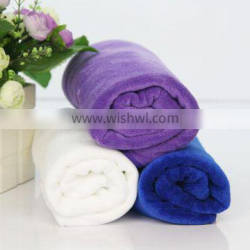 microfiber brushed towel