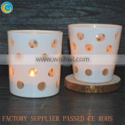 Full product customization matte rose color mercury lanterns bubble glass cup Quality Choice